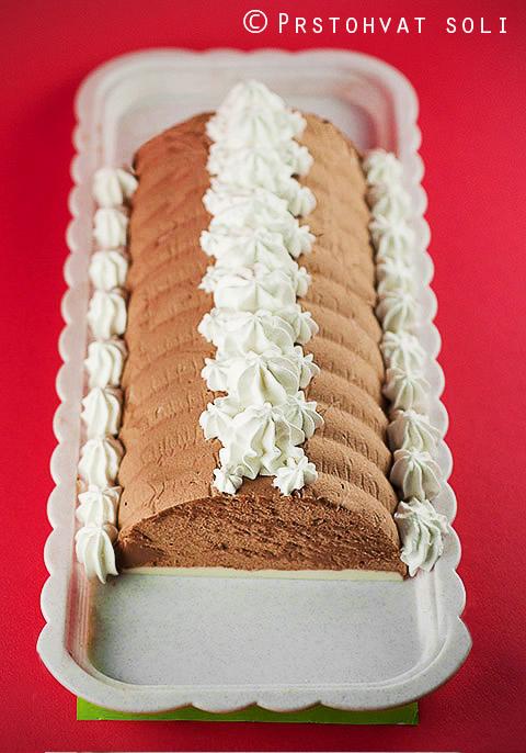 cokoladni pate sa toplo-hladnim kremom