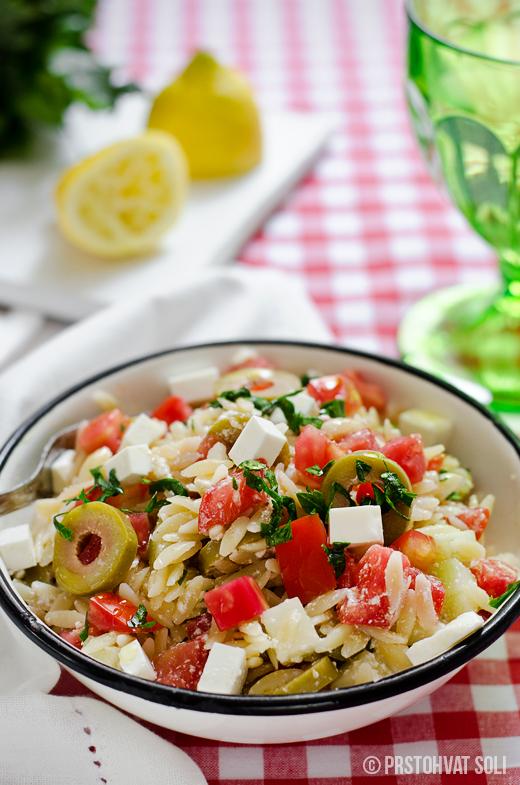 orzo-salata