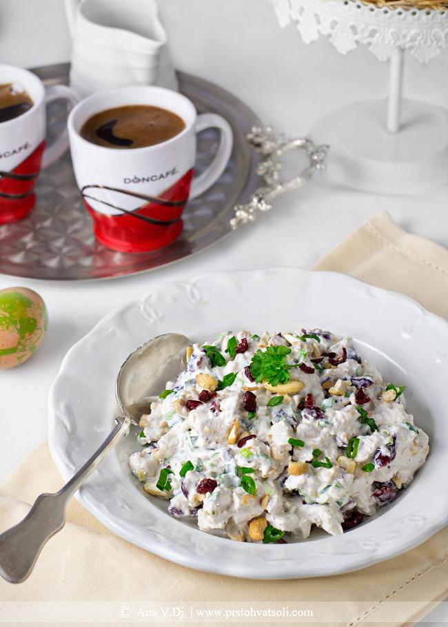 Pileca salata sa brusnicama