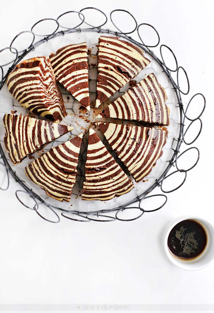 Zebra kolač