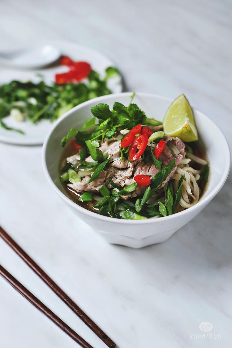 Pho: vijetnamska supa, brza verzija