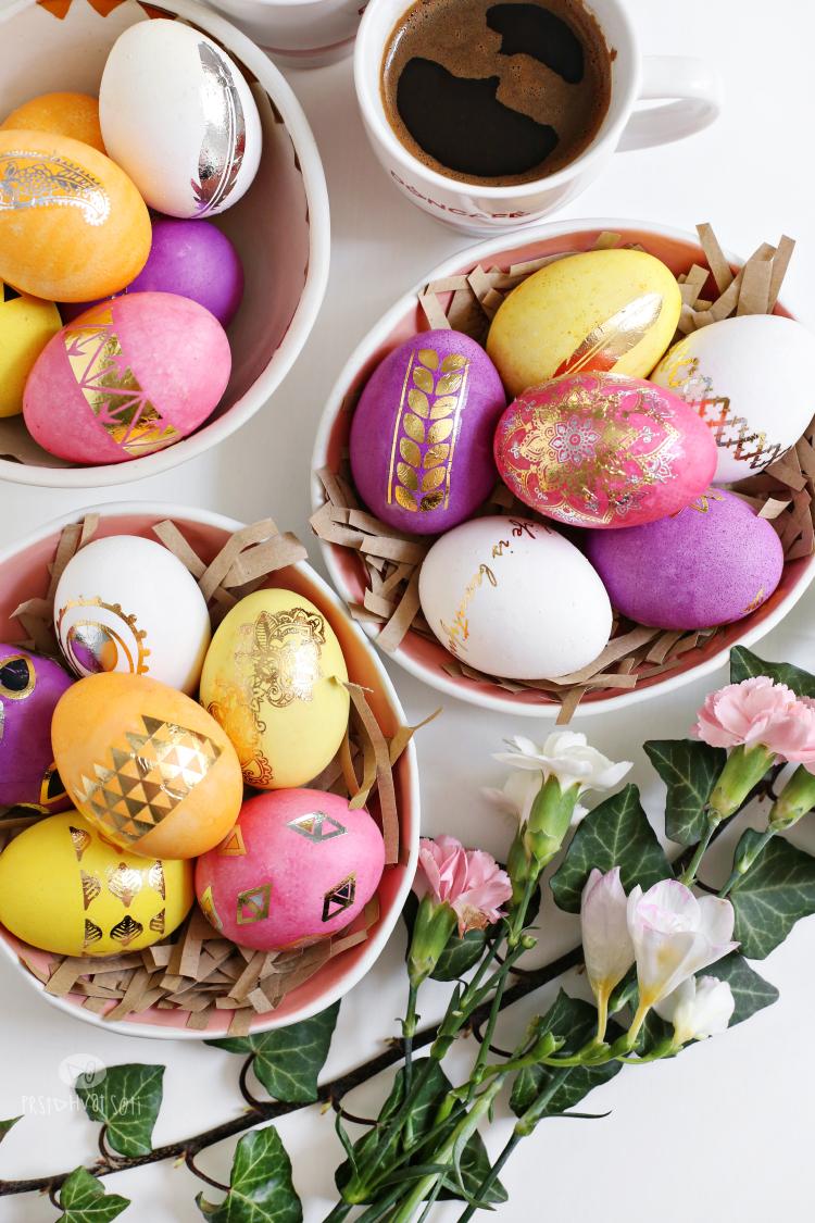 Dekoracija jaja tetovažama