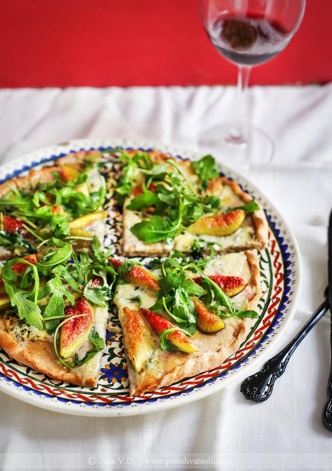 Pizza sa smokvama